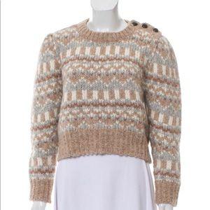 NWOT LoveShackFancy Sweater